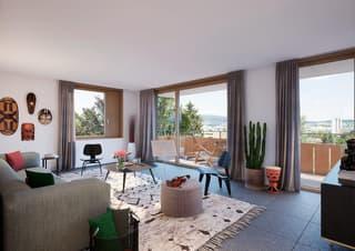 Luxuriöse 5 Zimmer Geschoss Wohnung (2)
