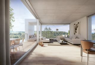 Traumhafte Terrassenwohnungen im Grünen (3)