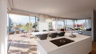 Letzte Villa mit Aussicht an idyllischer Lage | mit Baubewilligung (4)