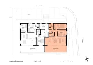 3.5 Zimmer Neubauwohnung mit grosser, gedeckter Terrasse/Sitzplatz (3)