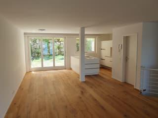 Moderne 3½-Zi Maisonette Eigentumswohnung mit Garten, See- und Weitsicht (2)