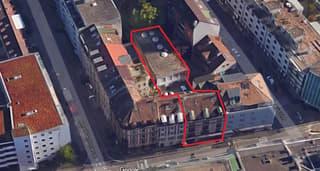 Mehrfamilienhaus, mit Industriegebäude (4)