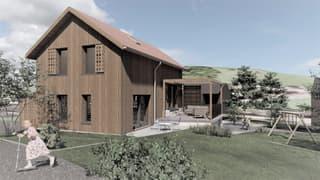 Neubau Einfamilienhaus am Fusse des Stockhorns (2)