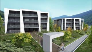 Mendrisio Capolago: 2.5 locali nuova costruzione a due passi dal lago e dalla stazione (3)