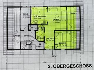 Charmante 2 1/2 Zi. - Altbauwohnung mitten im Zentrum von Teufen (2)