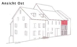 Pfiffige, moderne Wohnung in altem Bauernhaus (3)