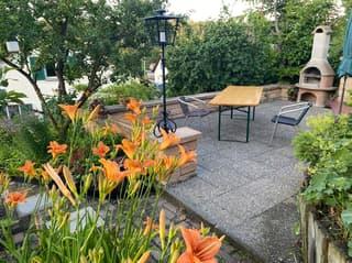 5 1/2 Zi-Doppeleinfamilienhaus mit Garten, Gartensitzplatz und Biotop (2)