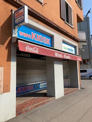 Kiosk direkt an der Zürcherstrasse (2)