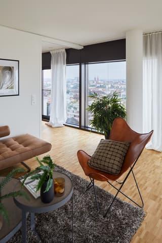 Erstbezug: Gemütliche 2.5-Zimmer-Wohnung im Claraturm (3)