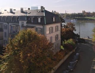 Am U. Rhein mit Sicht ins Grüne und Rhein (2)