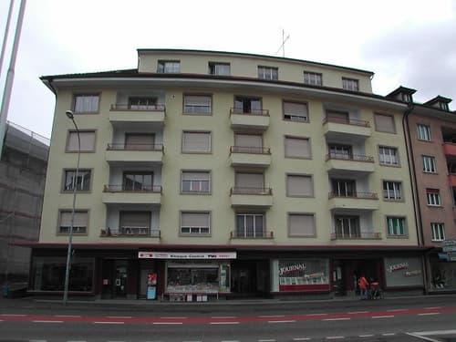 Tavannes - 3 1/2 Zimmer-Wohnung mit verglastem Balkon