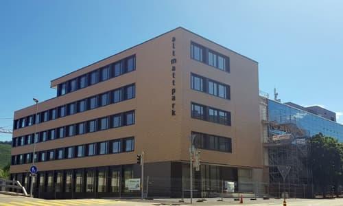 NEUBAU Büro-/Gewerberäume im Holzhybrid-/Edelrohbau