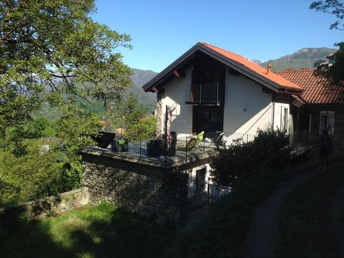 Lac Majeur: ravissante maison de village rénovée avec vue lac
