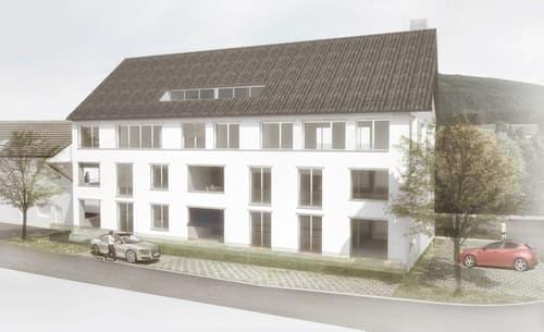 Neubau - Attraktive 3 1/2-Zimmer-Eigentumswohnung im Dorfkern von Lausen
