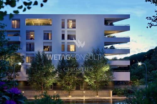 Moderne Penthouse-Wohnung in Agno am Luganer See zu verkaufen