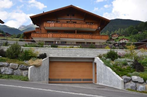 Autoeinstellhallenplätze, Überbauung Rothenegg, Grindelwald