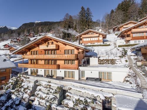 Modernes Mehrfamilienchalet Rotstöcki mit 3 Wohnungen
