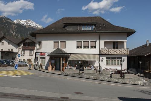 Restaurant - Top Lage direkt vor Adelboden