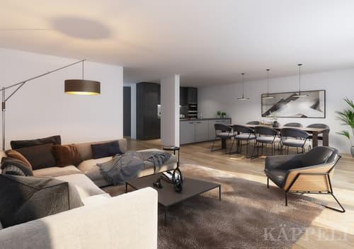 Neubau 4.5 Zimmer Reiheneinfamilienhaus in Thierachern
