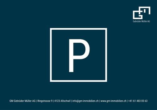 Aussenparkplatz an guter Lage!