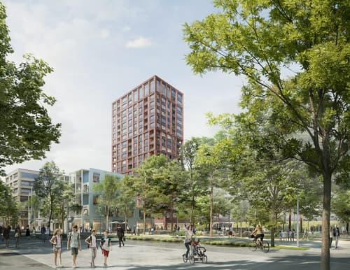 Central Malley - Bâtiment A3,4236 m2 de surface exclusive au coeur de la ville de l'ouest lausannois