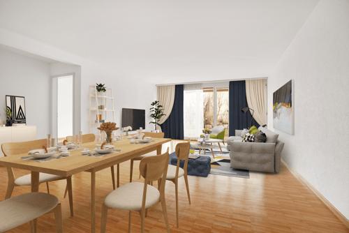 Bel appartement avec grande terrasse à proximité de la nature