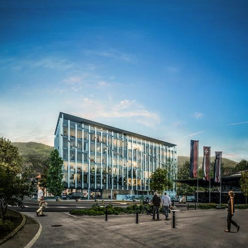 Nuovo centro amministrativo e commerciale