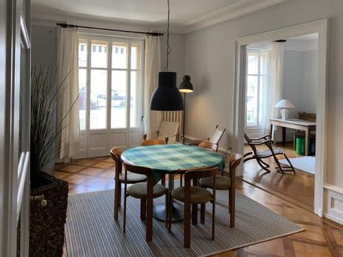 Appartement meublé (style 1900) au centre de Lausanne
