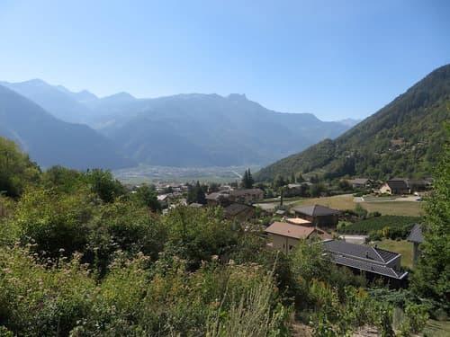 Bauland-Parzellen in Chamoson