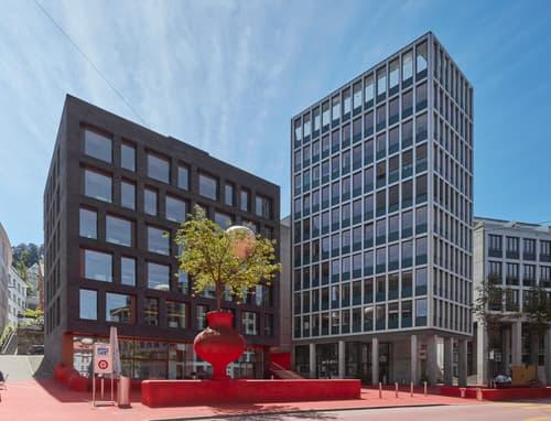 Büros an bester Lage im Zentrum von St. Gallen