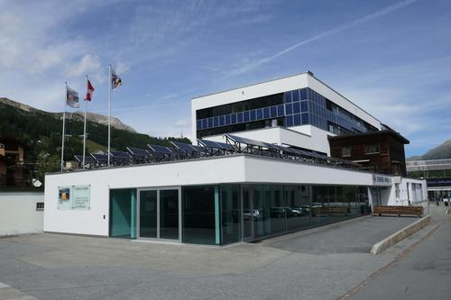 Gewerbefläche als Showroom/Laden in St. Moritz-Bad