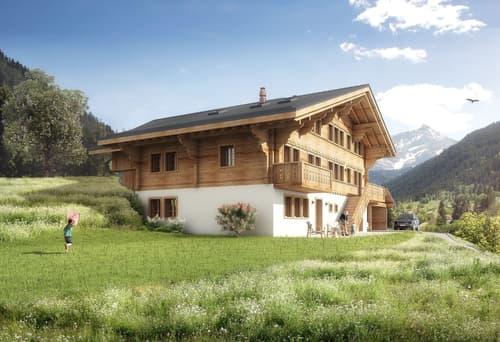 Neubau Chalet nähe Gstaad