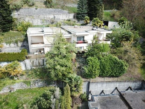 Terreno con casa esistente da ampliare a Pregassona