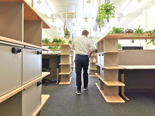 Arbeitsplätze im Shared Office