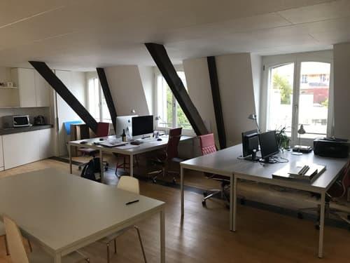 Places de travail à louer au centre de Lausanne