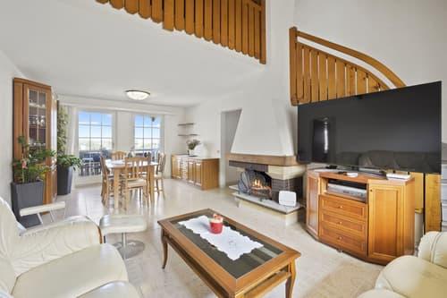 5.5-Zimmer-Maisonettewohnung oder 130 m² auf zwei Etagen