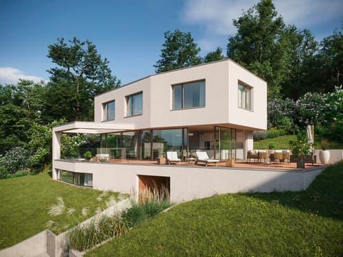 Letzte Villa mit Aussicht an idyllischer Lage | mit Baubewilligung (1)