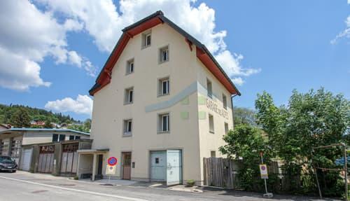 Immeuble Minergie de 3 logements avec 1 garage