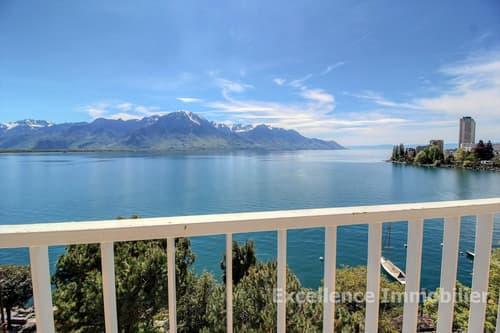 Appartement 4,5 pcs et studio avec vue époustouflante sur le lac