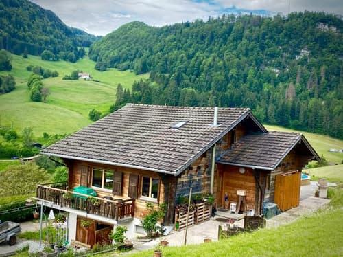 Chalet avec splendide vue sur le Doubs (1)