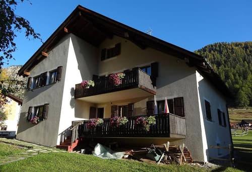 3.5-Zimmer Wohnung im sonnigen Tschierv (Val Müstair) GR