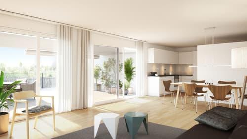 Spatenstich erfolgt - Wohn(T)raum - 3.5-Zimmer-Wohnung an bester Lage!