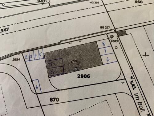 Aussenparkplatz Nummer zu vermieten