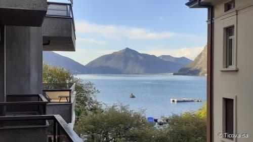 Lugano - Studio completamente rinnovato con vista lago