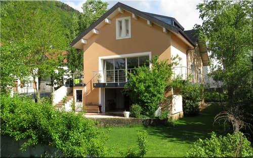 Dpt Ain (01), à vendre COLLONGES maison indivuelle rénovée 2015  sur 272 m2 avec jardin (1)