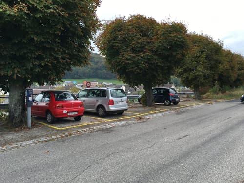 Parkplatz am Bahnhof Gelterkinden