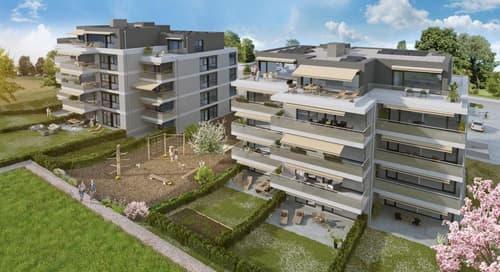 Eolia, votre futur quartier à Cossonay - Magnifique 3.5 pièces en attique