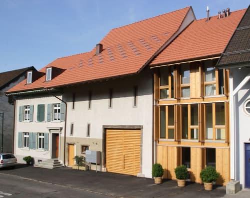 Pfiffige, moderne Wohnung in altem Bauernhaus (1)