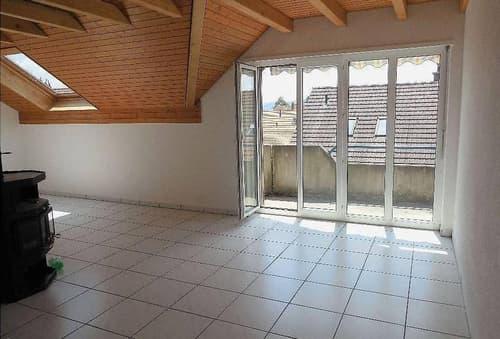 4.5 Zimmer, 88 m²  «Wohnen in den Dächern von Meinisberg»