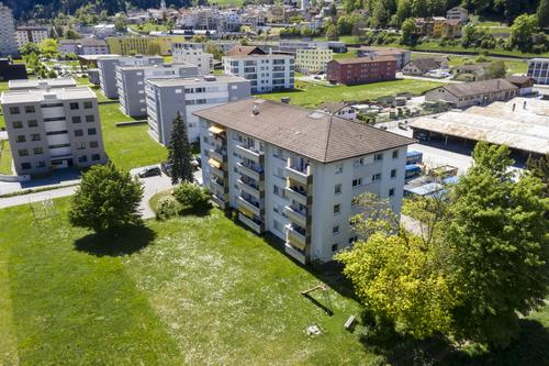 Mehrfamilienhaus mit Baulandreserve